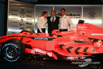 Christijan Albers, Colin Kolles and Adrian Sutil