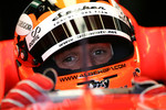 Christijan Albers in the 2007 Spyker-Ferrari F8-VII