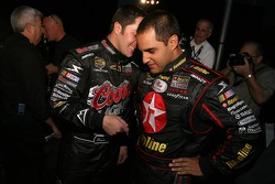 David Stremme and Juan Pablo Montoya