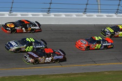 Ricky Rudd, Jimmie Johnson, Martin Truex Jr., Jeff Gordon and Casey Mears