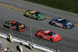 Dale Earnhardt Jr., Mike Wallace, Martin Truex Jr. and Carl Edwards