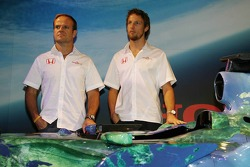 Honda F1 Racing RA107, Rubens Barrichello and Jenson Button