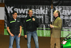 Kawasaki Racing Team: Randy de Puniet and Olivier Jacque