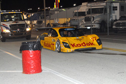 #77 Feeds The Need/ Doran Racing Ford Doran returns to pit after accident by Michel Jourdain Jr.