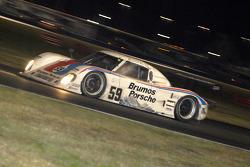 #59 Brumos Porsche/ Kendall Porsche Riley: Hurley Haywood, JC France, Joao Barbosa, Roberto Moreno
