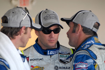 Marc Goossens, Jimmie Johnson and Jim Matthews