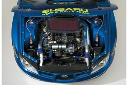 Engine of the new Subaru Impreza WRC2007