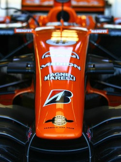 Spyker F1 Team, F8-VII, Front wing / Nose