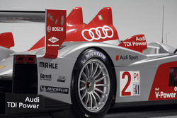 Detail of the Audi R10 2007