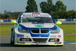 Sergio Hernandez, Proteam Motorsport, BMW 320si WTCC