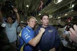 Petter Solberg and Travis Pastrana