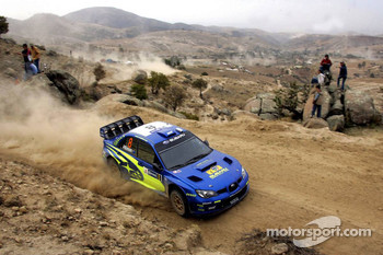Chris Atkinson and Glenn MacNeall, Subaru WRT Subaru Impreza 2007 WRC
