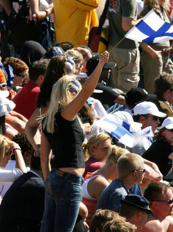 Fans of Finnish drivers