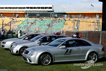 Formula 1 Safety and Medical car