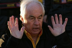 A hand on approach for Roger Penske