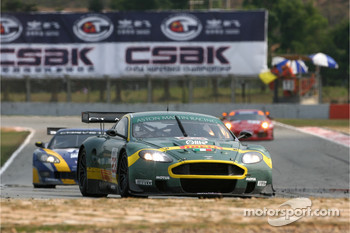 #23 Aston Martin Racing BMS Aston Martin DBR9: Fabio Babini, Jamie Davies