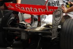 Rear Wing of  McLaren Mercedes, MP4-22