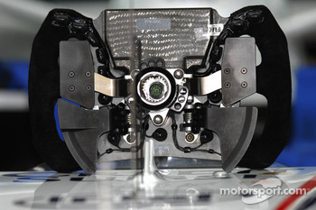 Steering Wheel of  Robert Kubica,  BMW Sauber F1 Team