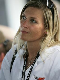 Christina, wife of Jan Magnussen