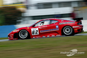 #62 Scuderia Ecosse Ferrari 430 GT2: Chris Niarchos, Andrew Kirkaldy