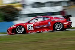 #62 Scuderia Ecosse Ferrari 430 GT2: Chris Niarchos, Andrew Kirkaldy