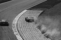 #22 Aston Martin Racing BMS Aston Martin DBR9: Giorgio Mondini, Ferdinando Monfardini, #63 Scuderia Ecosse Ferrari 430 GT2: Tim Mullen, Tomas Enge