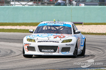 #70 SpeedSource Mazda RX-8: Sylvain Tremblay, Nick Ham