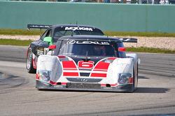 #6 Michael Shank Racing Lexus Riley: Henri Zogaib, Ian James