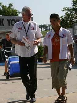 Daniele Audetto, Super Aguri F1 with Takuma Sato, Super Aguri F1