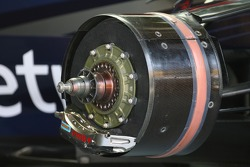 Red Bull Racing technical front brake disc