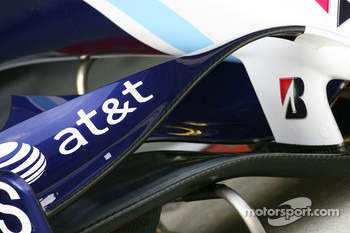 Williams F1 Team, FW29, front wing detail