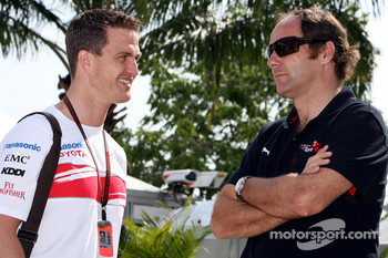 Ralf Schumacher, Toyota Racing and Gerhard Berger, Scuderia Toro Rosso, 50% Team Co Owner