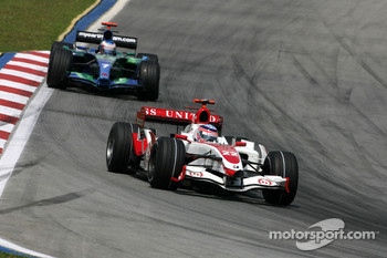 Takuma Sato, Super Aguri F1 Team, Jenson Button, Honda Racing F1 Team