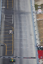 Will Power takes the checkered flag
