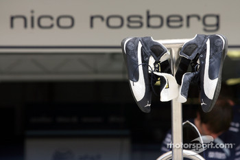 Nico Rosberg, WilliamsF1 Team, race boots