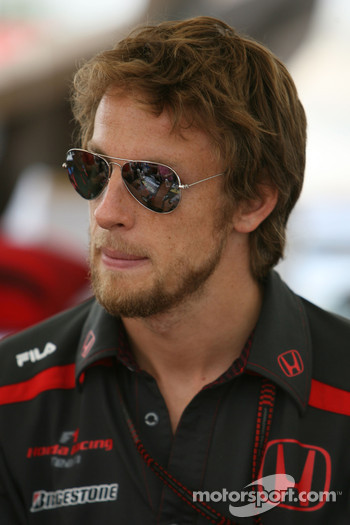 Autograph session: Jenson Button, Honda Racing F1 Team