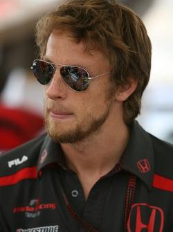 Autograph session: Jenson Button, Honda Racing F1 Team