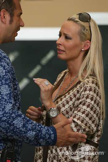 Cora Schumacher, Wife of Ralf Schumacher and  Kai Ebel, RTL Television