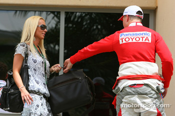 Cora Schumacher, Wife of Ralf Schumacher and Ralf Schumacher, Toyota Racing