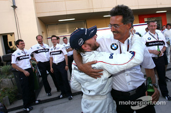 Nick Heidfeld, BMW Sauber F1 Team, Dr. Mario Theissen, BMW Sauber F1 Team, BMW Motorsport Director
