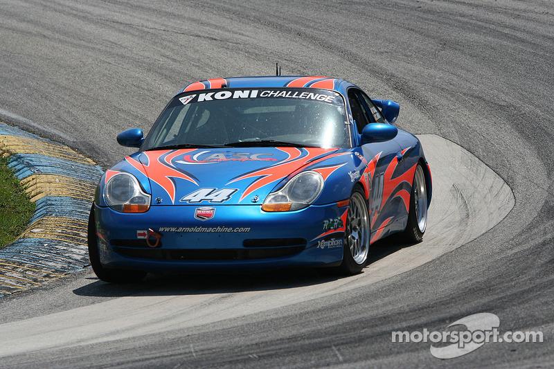 #44 ASC Motorsports Porsche 996: Tanner Baker, Zach Arnold
