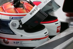 Helmets of Emanuele Pirro and Marco Werner