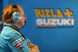 Rizla+ Suzuki team member