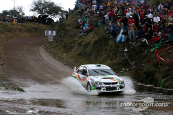 Martin Rauam and Kristo Kraag, Mitsubishi Lancer Evolution IX