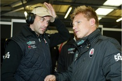Michael Bartels and Mika Salo