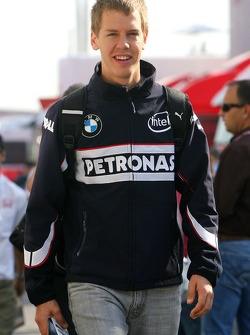Sebastian Vettel, Test Driver, BMW Sauber F1 Team