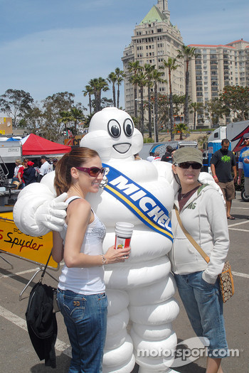 Bibendum and friends in Long Beach