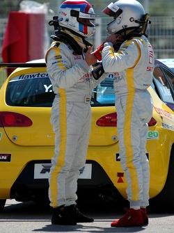 Yvan Muller, SEAT Sport, Seat Leon , Michel Jourdain, Jr., SEAT Sport, SEAT Leon