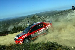 Moreno Cenedese and Marika Rossetto, Mitsubishi Lancer Evolution IX