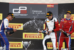 Esteban Ocon, ART Grand Prix, Luca Ghiotto, Trident & Emil Bernstorff, Arden International